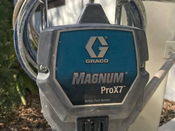 Photo Graco Magnum Pro x7 paint sprayer - $350 (Sarasota)