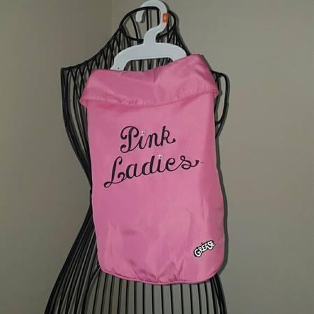 Photo Grease Pink ladies Dog Jacket XL Costume  Pet Dress Up Costume - $15 (Sarasota)