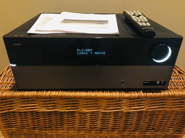 Photo Harman Kardon AVR 1565 5.1 Channel 350 Watt Receiver HDMI - $125 (Bradenton)