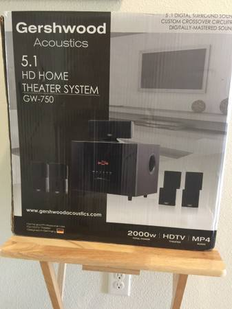 Photo Home Theater System, Gershwood 5.1 HD GW-750 - $200 (Parrish)