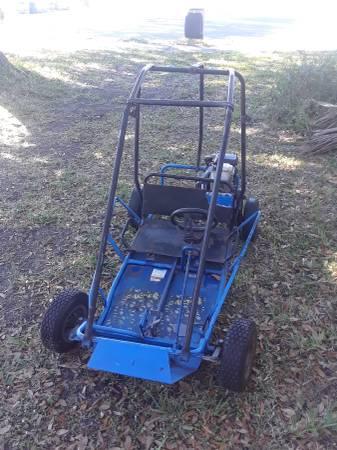 Photo Honda go kart with roll cage - $400 (Bradenton)
