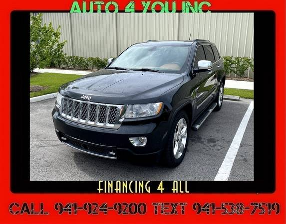 Photo Jeep Grand Cherokee Overland 5.7 V8 Hemi $4000 Down Auto 4 You - $15,900 (5350 McIntosh rd Sarasota fl 34233)