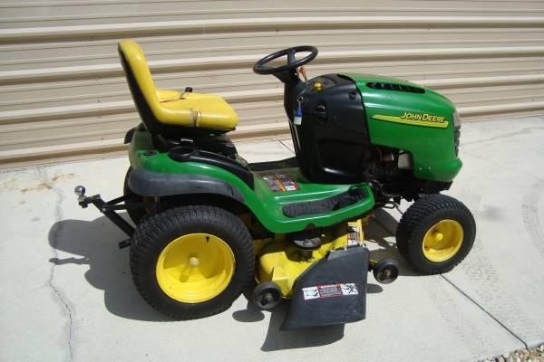 Photo John Deere L120 48quot lawn mower - $600 (Ellenton Parrish)