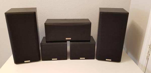 Photo Kenwood KS-401HT Surround Sound Speaker System - $30 (Lakewood Ranch  Bradenton)
