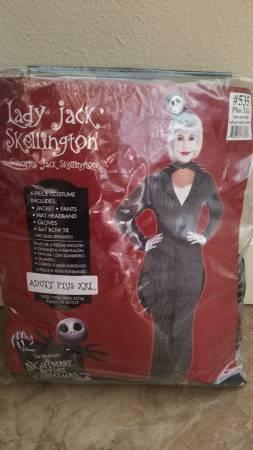 Photo Lady Jack Skellington The Nightmare Before Christmas Costume - $30 (Sarasota)