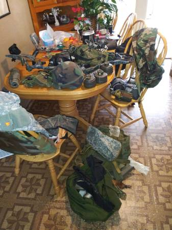 Photo Many new things garage sale. Bike parts bug out bags military gear too (BRADENTON)
