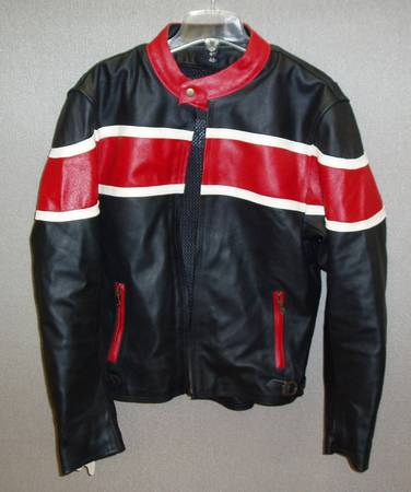 Photo Mens Motorcycle Jacket with Armor - $80 (Venice)