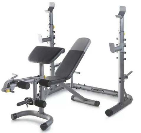 Photo New Weider XRS 20 Adjustable Olympic Workout Bench with Independent Squat Rack - $350 (Sarasota)