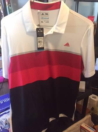 Photo New w Tags - Mens Adidas ClimaCool PoloGolf Shirt XL (save $45) - $20 (bradenton)