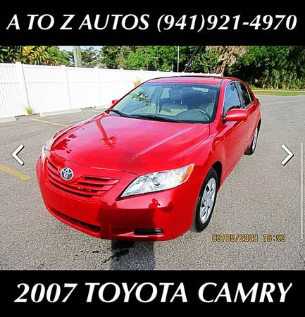 Photo ONLY 73K MILES2007TOYOTACAMRY - $7900 (A TO Z AUTOS - YOUR 1 BUY HERE PAY HERE)