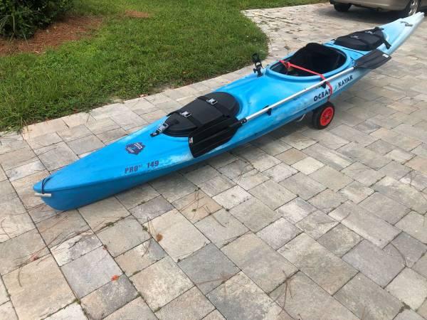 Photo Ocean kayak pro si 149 for sale - $390 (Sarasota)