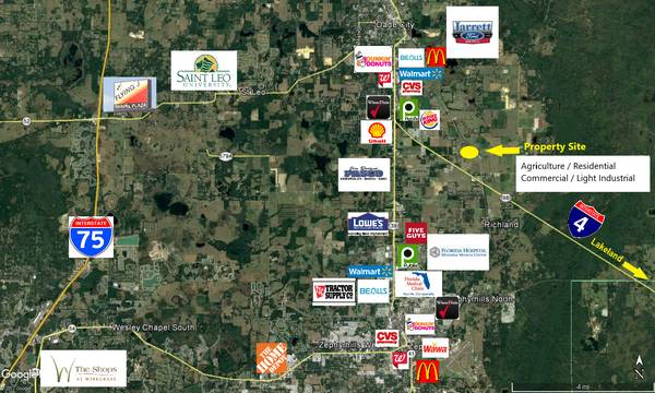 Photo Pasco County Land for Sale-- 7 - 10 - 22 Acres