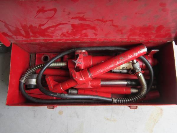 Photo REDUCEDRam power auto body frame repair kit 4 ton - $50 (North port)
