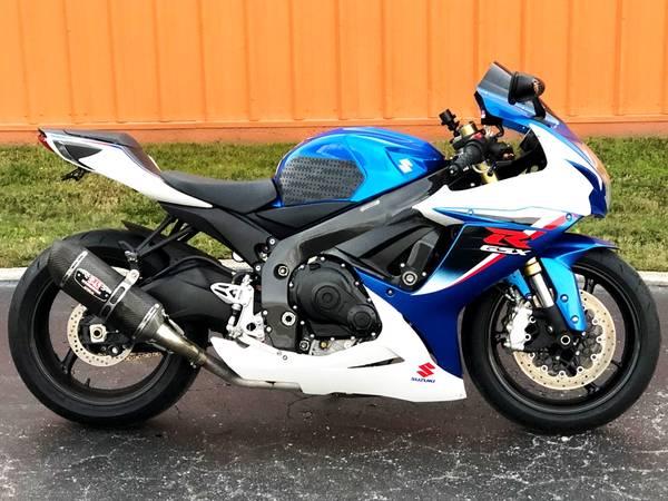 Photo SOLD SOLD 2013 Suzuki GSXR 750 Nice Only 11K miles - $6,999 (Sarasota)