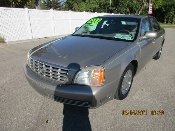 Photo SUPER CLEAN2002 CADILLAC DEVILLE - $5,900 (A TO Z AUTOS - YOUR 1 BUY HERE PAY HERE)