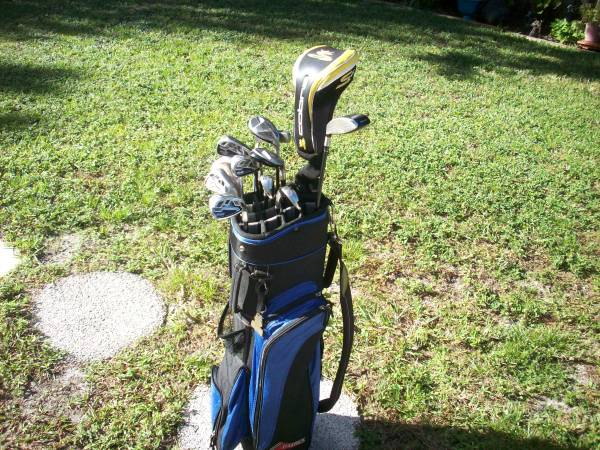 Photo Set Of Golf Clubs Cobra BIO CELL Irons 6-PW GW LW Hybrids 4 5 Driver - $380 (N. SARASOTA)
