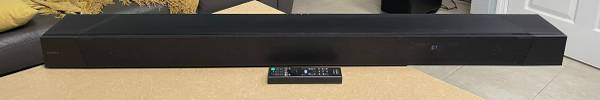 Photo Sony SA-ST5000 7.1.2ch Dolby AtmosDTSX TM Soundbar  Remote ONLY - $379 (Sarasota)