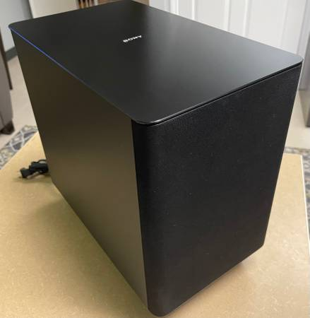 Photo Sony SA-WST5000 Wireless 7.1.2 Dolby Atmos Subwoofer Only - $250 (Sarasota)