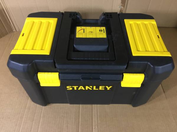 Photo Stanley 19quot Essential Upper Portion Tool Box Only Model STST18631 (Sarasota)