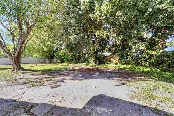 Photo The backyard is luscious with huge vines and trees providing shade (BRADENTON, FL)