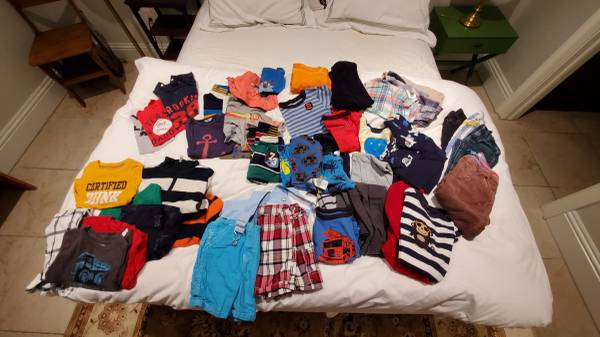 Photo Toddler boy clothing size 18-24 months - $30 (Sarasota)