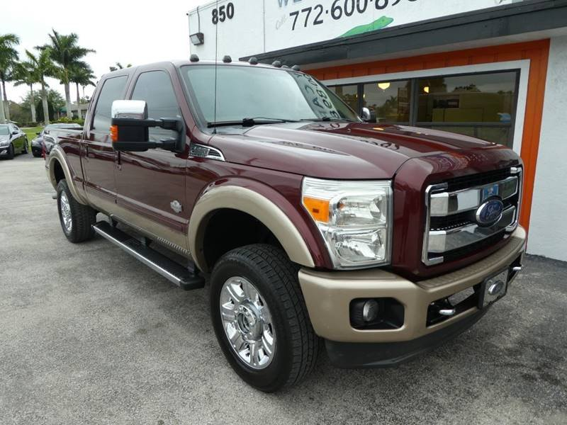 Photo Used 2013 Ford F250 4x4 Crew Cab King Ranch for sale