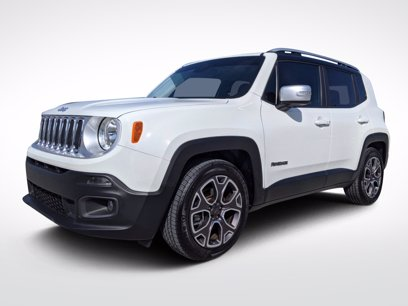 Photo Used 2016 Jeep Renegade Limited for sale
