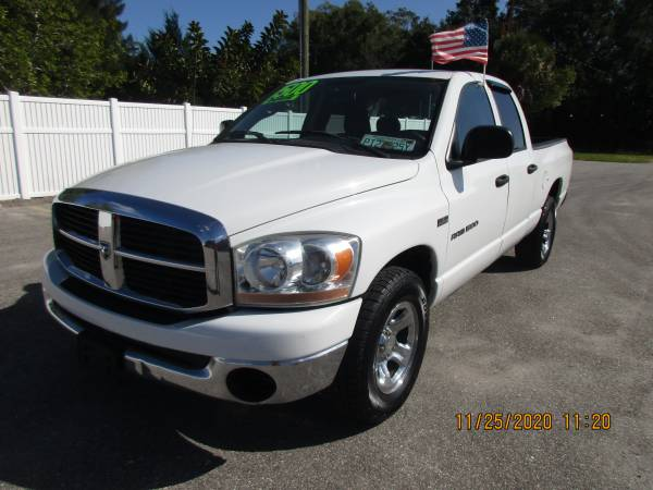 Photo WOW2006 DODGE RAM 1500QUAD CAB - $5,900 (A TO Z AUTOS - YOUR 1 BUY HERE PAY HERE)