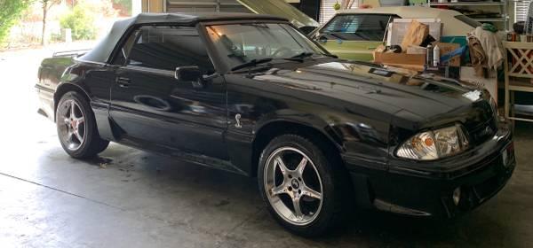 Photo 1993 Mustang 5.0 Cobra convertible - $9,000 (Savannah)