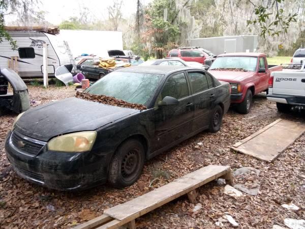 Photo 2007 Chevy Malibu Whole Car Break Up For Parts - $800 (Savannah)
