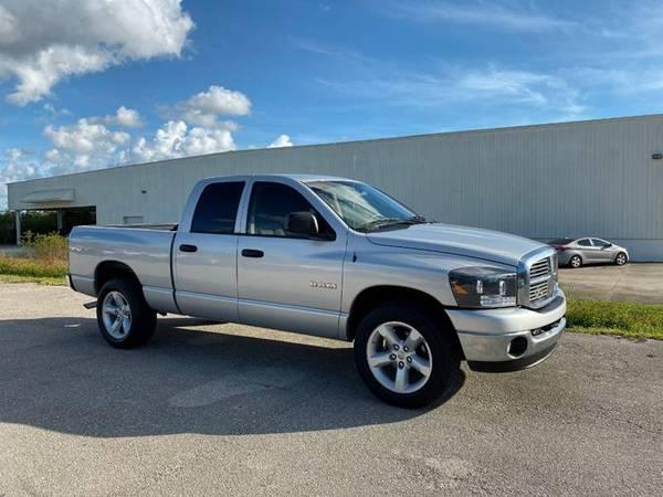 Photo 2008 DODGE RAM PICKUP 1500 SLT - $10490 (Sarasota, FL 941-408-4199)