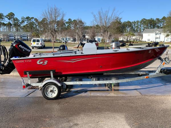 Photo 2015 G3 aluminum boat - $9000 (Savannah, GA)