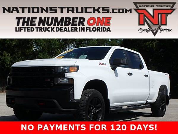 Photo 2019 CHEVY 1500 CUSTOM TRAIL BOSS Z71 Crew Cab 4X4 - BACK UP CAM - $41,995 (Central Florida)