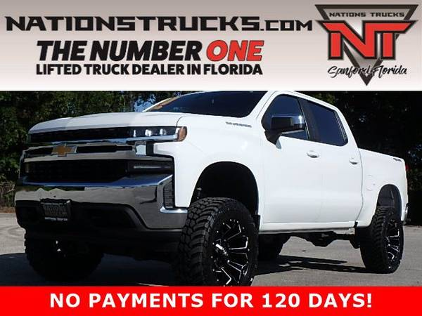Photo 2020 CHEVY 1500 LT Crew Cab 4X4 LIFTED TRUCK - NEW LIFT - $48,995 (Central Florida)