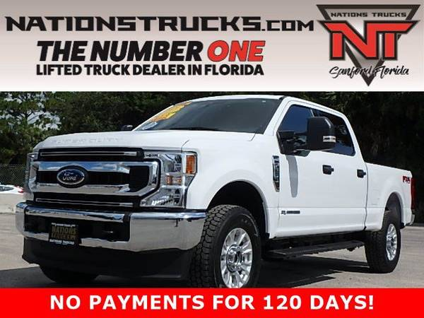 Photo 2020 FORD F250 XLT FX4 Crew Cab POWERSTROKE DIESEL 4X4 - NEW TIRES - $65,995 (CENTRAL FLORIDA)