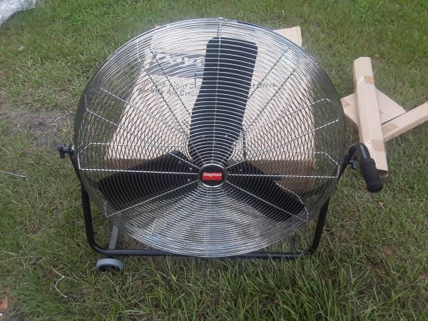 Photo 30quot Dayton direct drive air circulator fan - $175 (Pooler. Old dean forest rd)