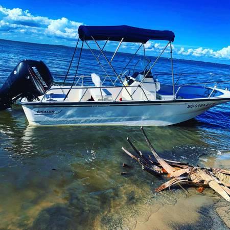 Photo Boston Whaler Montauk 170 (Power PoleTrim TabsLow Hours) - $32,500 (Savannah)