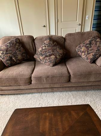 Photo Couch, loveseat  chair with ottoman - $250 (Richmond Hill)
