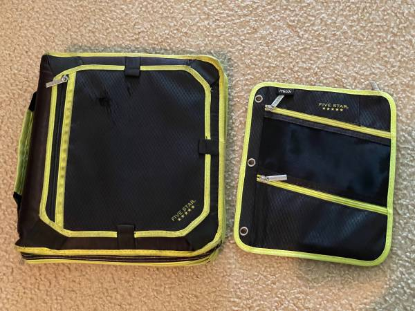 Photo Five Star Binder and Pencil Pouch