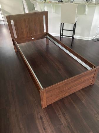 Photo Kids Twin Bed frame from IKEA - $50