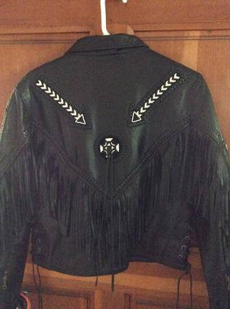 Photo Leather Jacket WOMENS - $200 (Wilmington Island)