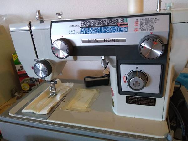 Photo New Home Model 592 Sewing Machine by Janome - $75
