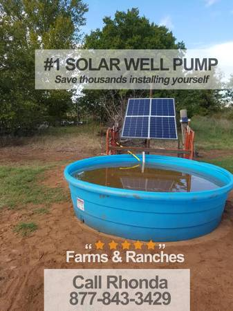 Photo Solar powered deep well pump Small-scale and commercial-scale - $1,550 (savannah)