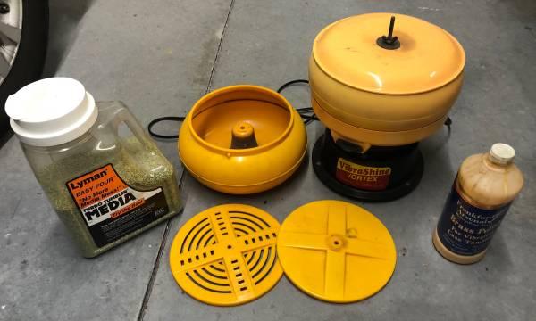 Photo Vibratory Case Tumbler setup - $100 (Pooler)