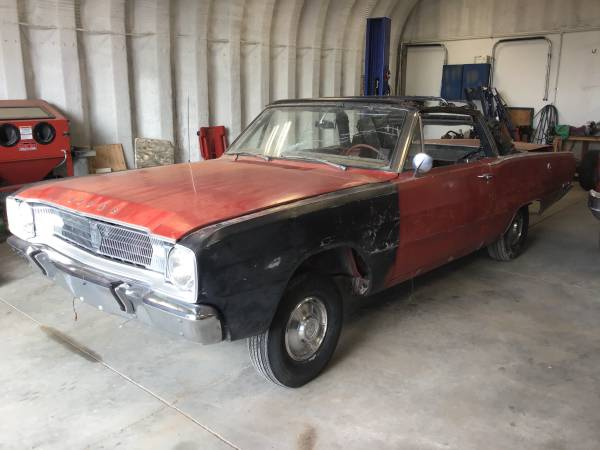 Photo 1967 Dodge Dart GT convertible - $3900 (Lake Minatare)