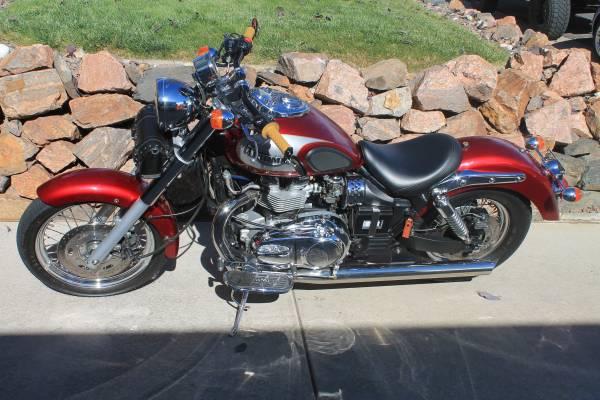 Photo 2002 Triumph Bonneville America - $3,500 (Westminster)