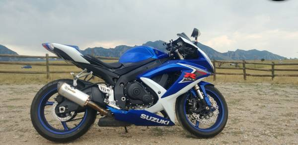 Photo 2008 Suzuki GSX-R 600 - $4,600 (Denver)