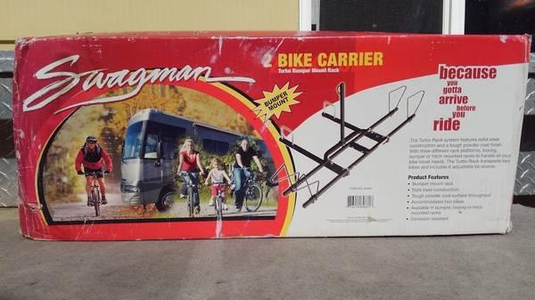 Photo 2 Bike Bumper Rack for RV - NEW IN BOX - $100 (Arvada)