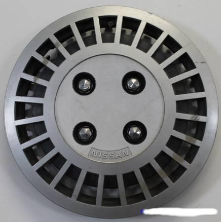 Photo 82-86 Nissan Sentra 13quot Hubcap Wheel Cover, 4 lug OEM  999JW-B5000 (S Aurora)