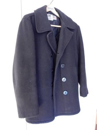 Photo Authentic US Navy Pea Coat, Sz. 40 - $150 (SE Denver DTC)